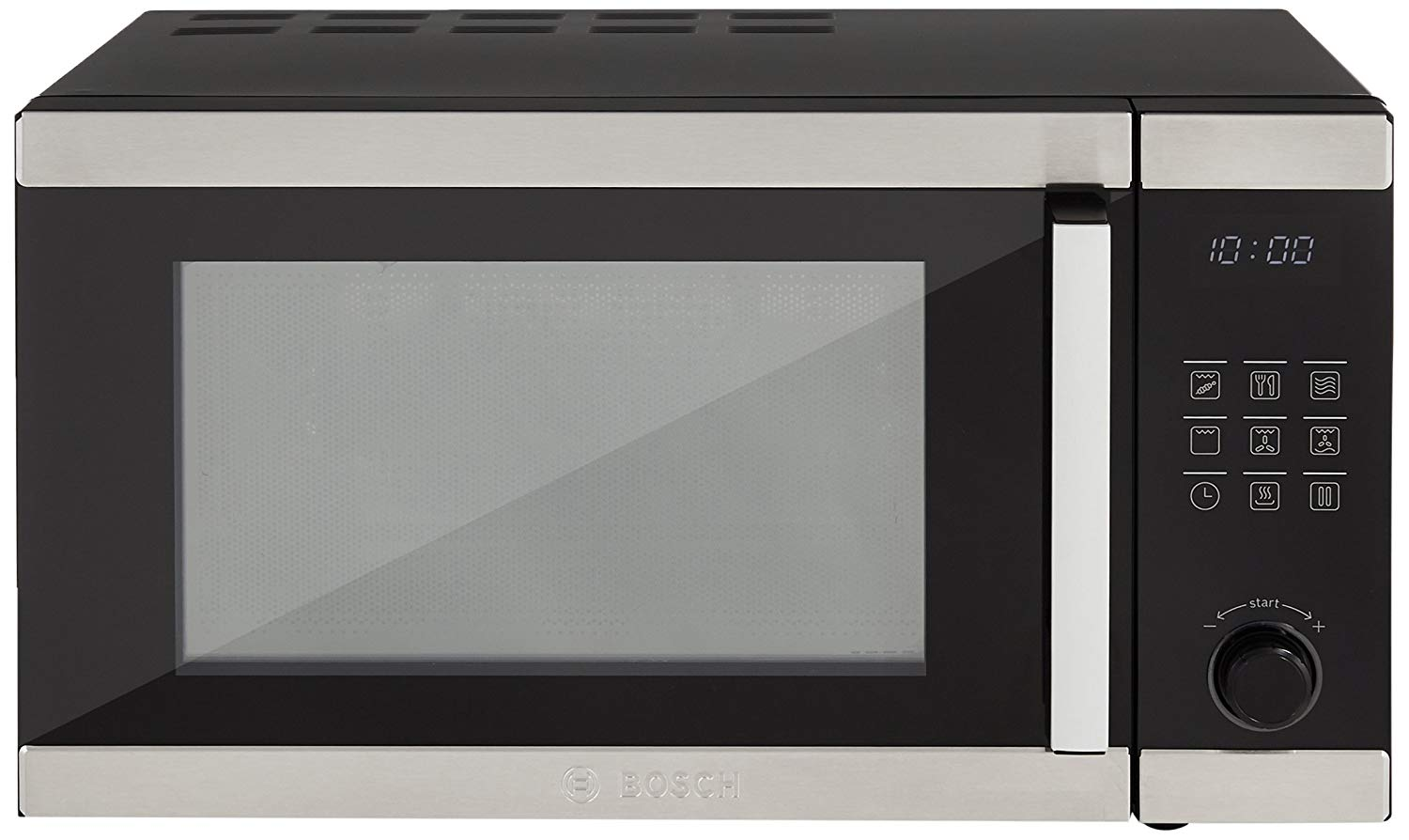 Bosch 23 Liters Convection Microwave Oven (Stainless Steel and Black)