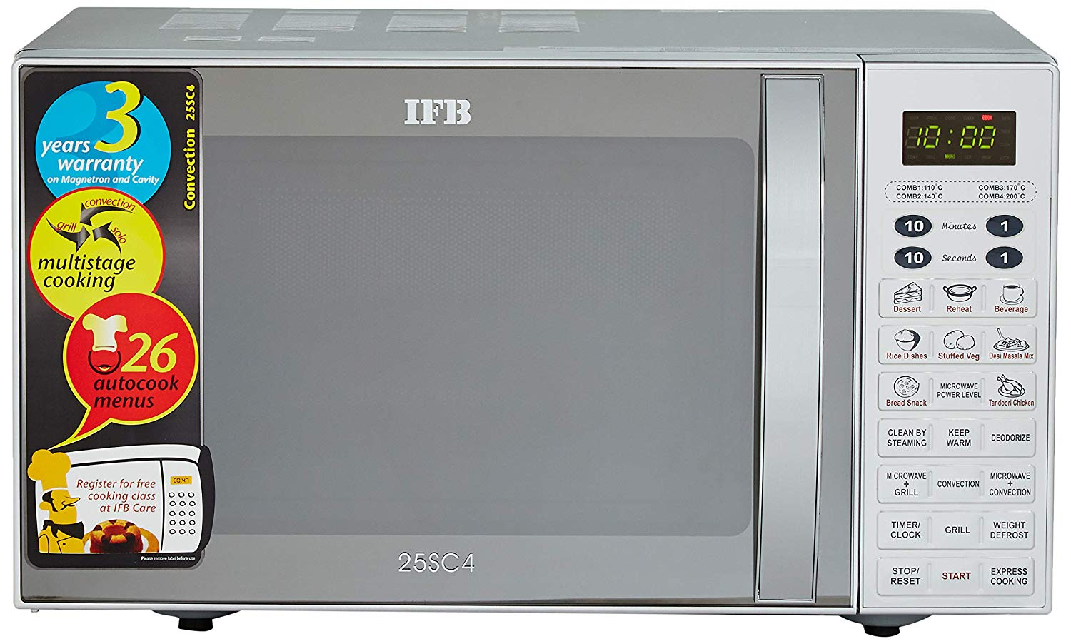 IFB 25 Liters Convection Microwave Oven