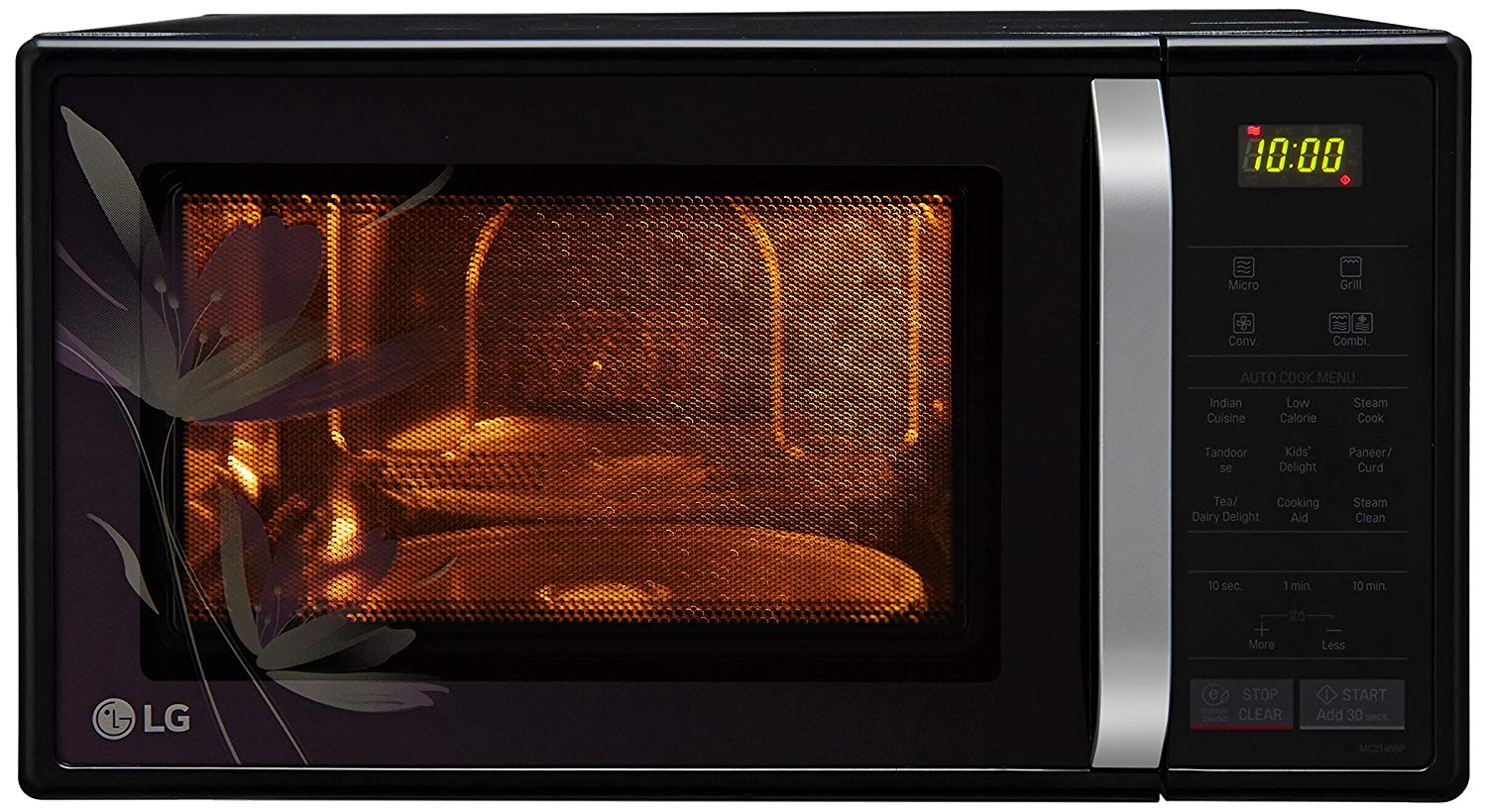 LG 21 L Convection Microwave Oven (Black)