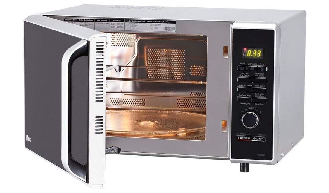 LG 28 L Convection Microwave Oven ( Silver)