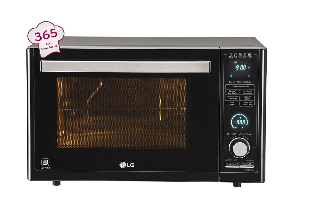 LG 32 L Convection Microwave Oven ( Black)