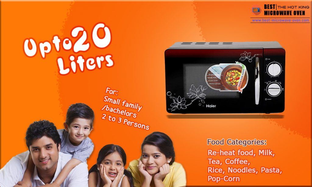 Up to-20-Liters-Microwave Oven