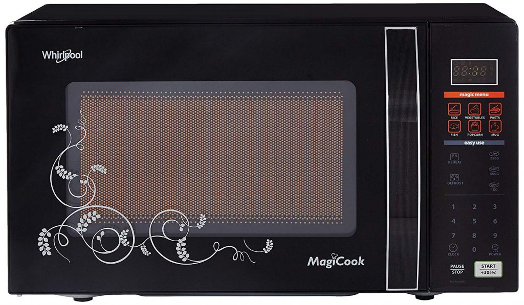Whirlpool 20 L Solo Microwave Oven (MAGICOOK 20L Classic-Black (New)